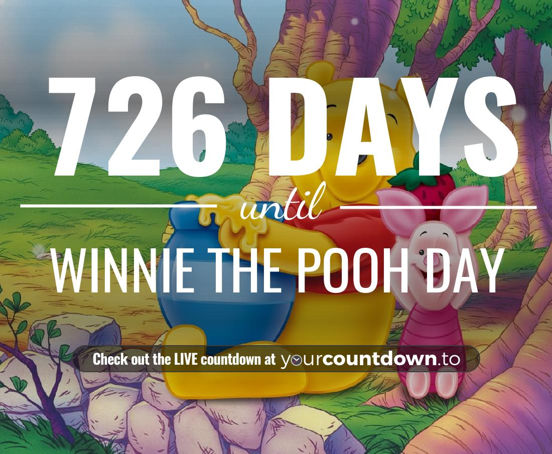 Countdown to Winnie The Pooh Day