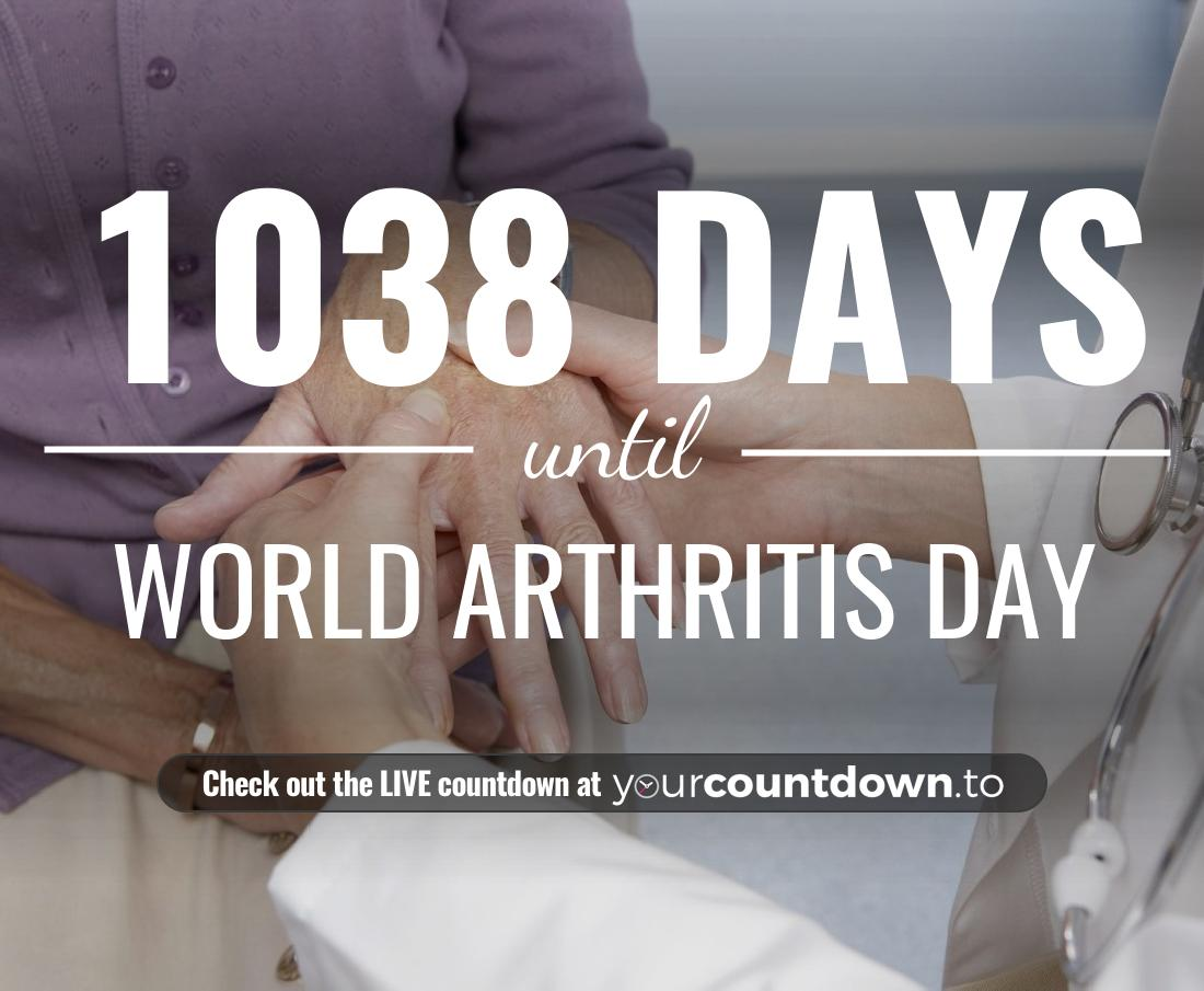 Countdown to World Arthritis Day