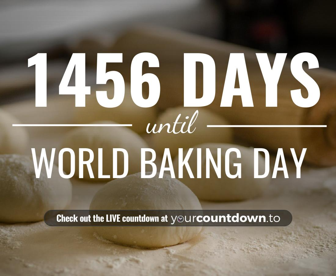 Countdown to World Baking Day