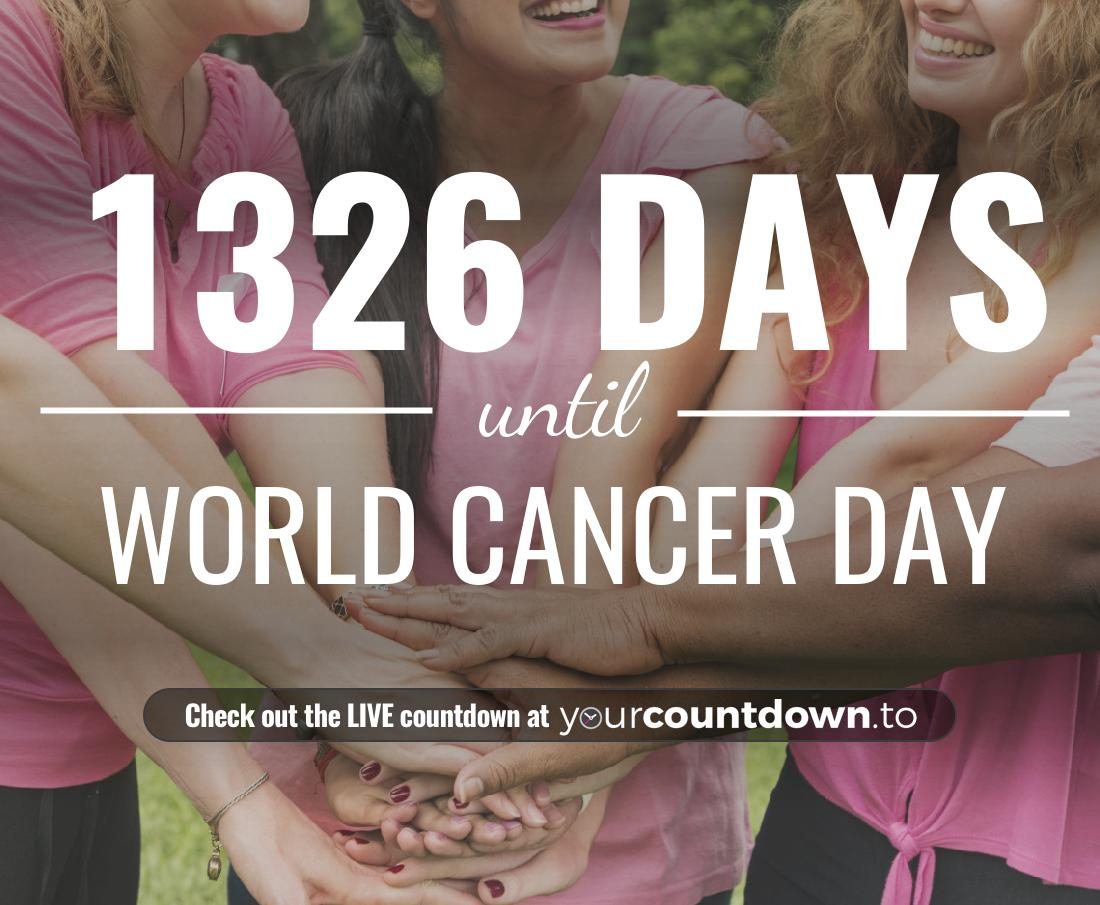 Countdown to World Cancer Day