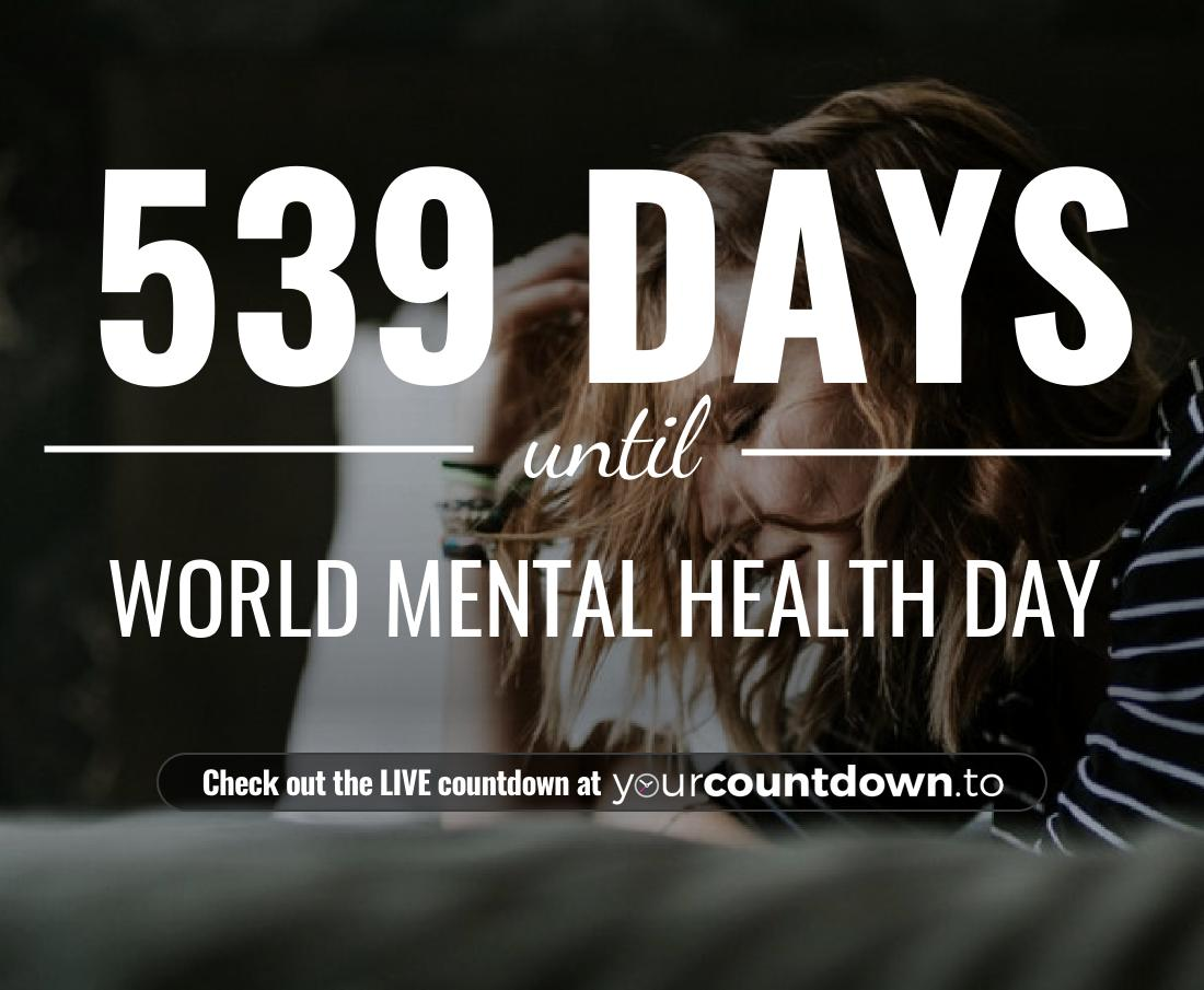 Countdown to World Mental Health Day
