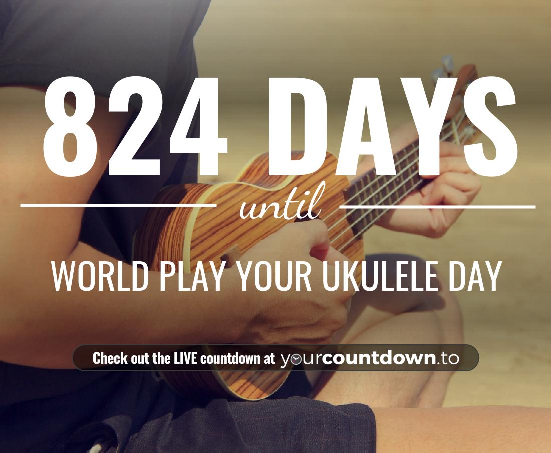 Countdown to World Play Your Ukulele Day