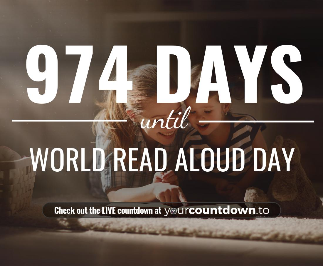 Countdown to World Read Aloud Day
