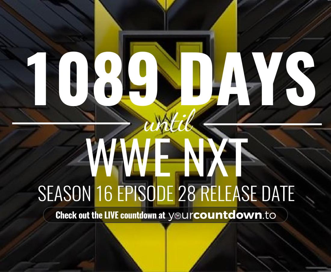 Countdown to WWE NXT Season 13 Episode 30
