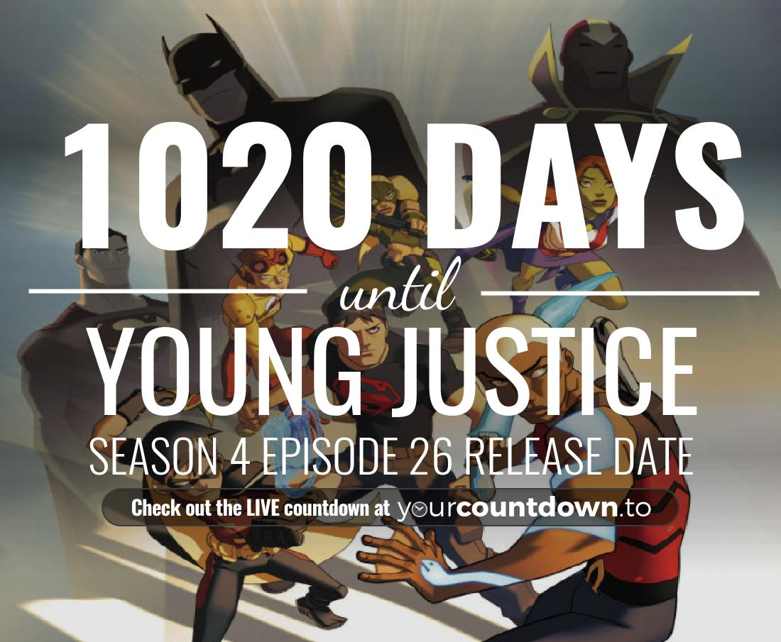 Countdown to Young Justice Season 3 Episode 24